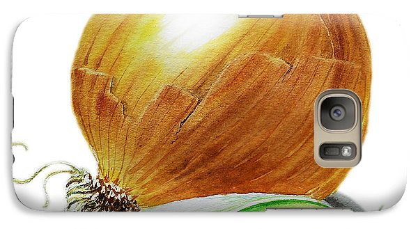 Onion And Peas Galaxy S7 Case by Irina Sztukowski