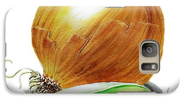 Onion And Peas Galaxy S7 Case by Irina Sztukowski