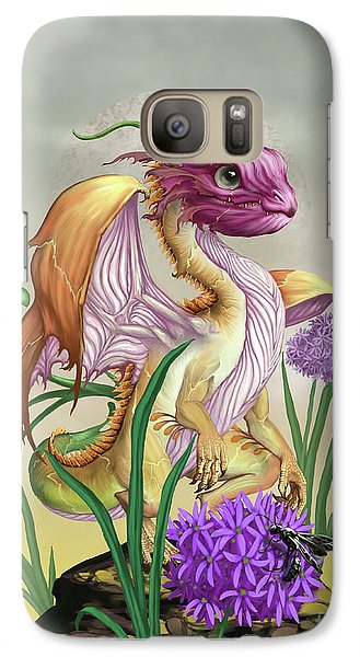 Galaxy Case featuring the digital art Onion Dragon by Stanley Morrison