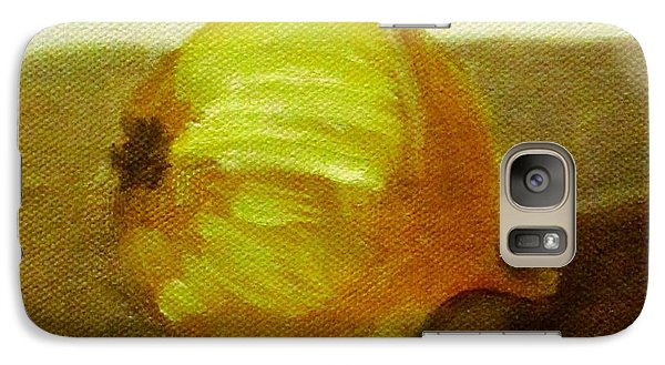 Galaxy Case featuring the painting Onion by Patricia Cleasby