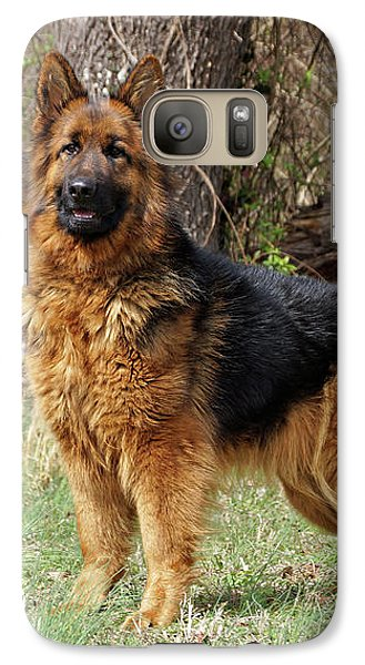 Galaxy Case featuring the photograph Onja by Sandy Keeton