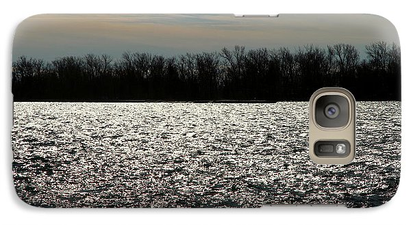 Galaxy Case featuring the photograph Ontario Winter Reflections by Valentino Visentini