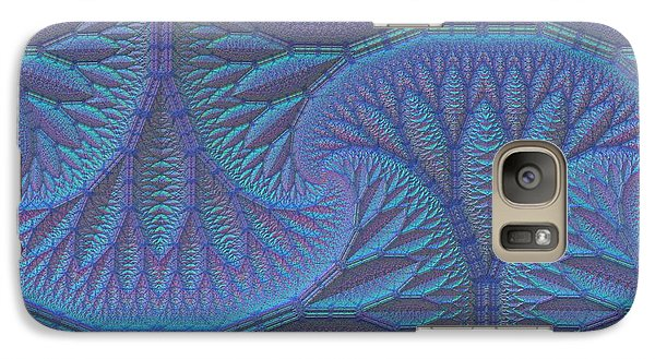 Galaxy Case featuring the digital art Opalescence by Lyle Hatch