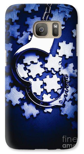 Open Case Mystery Galaxy S7 Case
