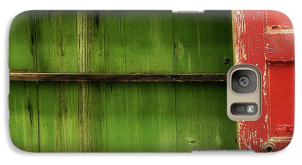 Galaxy Case featuring the photograph Open Door by Mike Eingle