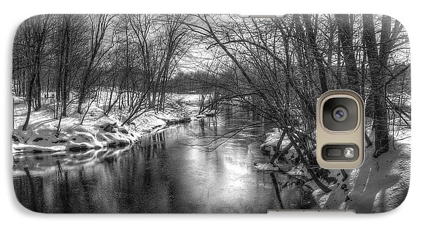 Galaxy Case featuring the photograph Open River by Betsy Zimmerli