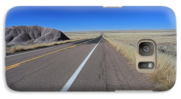 Galaxy Case featuring the photograph Open Road by Gary Kaylor
