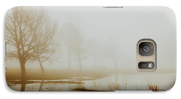Galaxy Case featuring the photograph Open Space by Iris Greenwell