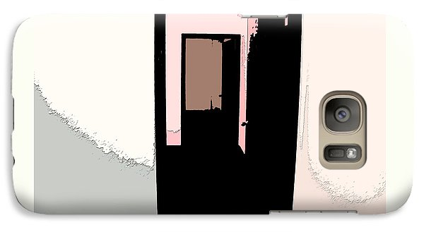 Galaxy Case featuring the photograph Opening Doors To The Future 1 by Lenore Senior
