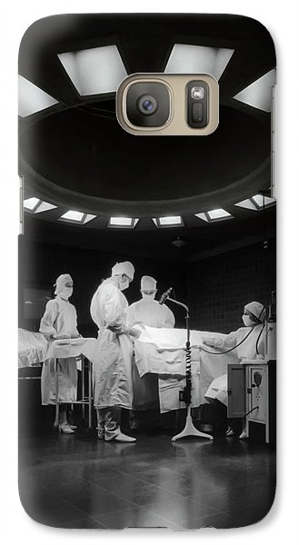 Galaxy Case featuring the photograph Operating Room Theater 1933 by Daniel Hagerman