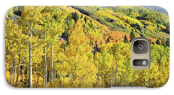 Galaxy Case featuring the photograph Ophir Road Hillside by Ray Mathis