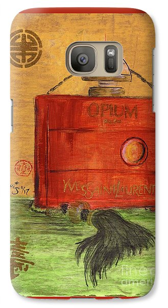 Galaxy Case featuring the painting Opium by P J Lewis