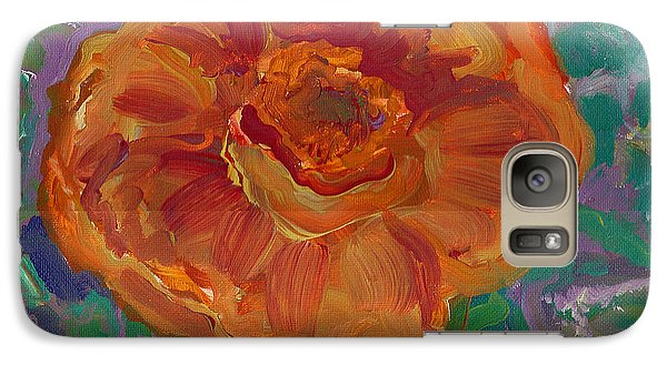 Galaxy Case featuring the painting Orange Blossom by John Keaton