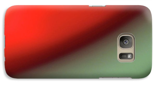 Galaxy Case featuring the photograph Orange Red Green by CML Brown