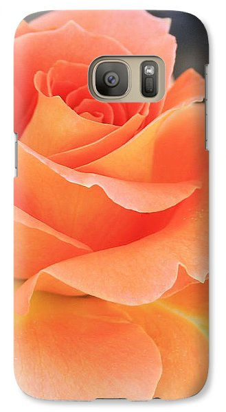 Galaxy Case featuring the photograph Orange Sherbert by Marna Edwards Flavell