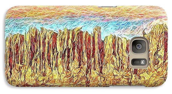 Orange Sky Cliffs - Colorado Galaxy S7 Case