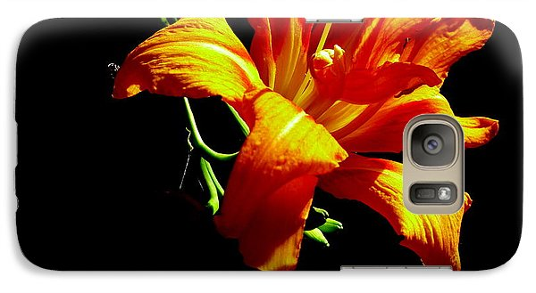 Galaxy Case featuring the photograph Orange Splendor by Fred Wilson
