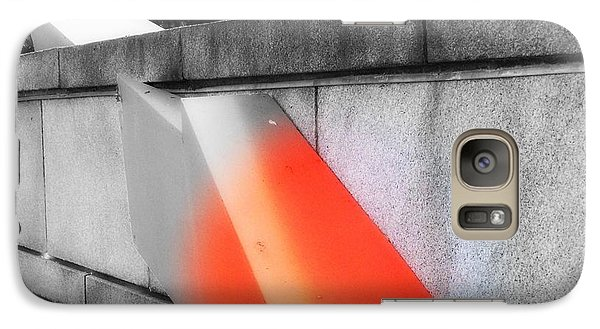 Orange Tipped Arrow Galaxy S7 Case