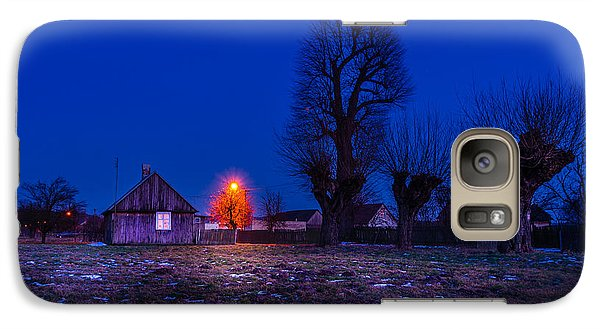 Galaxy Case featuring the photograph Orange Tree by Dmytro Korol