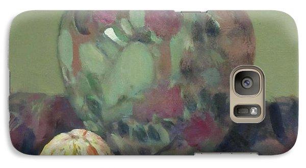 Oranges And Floral Porcelain Vase Galaxy S7 Case