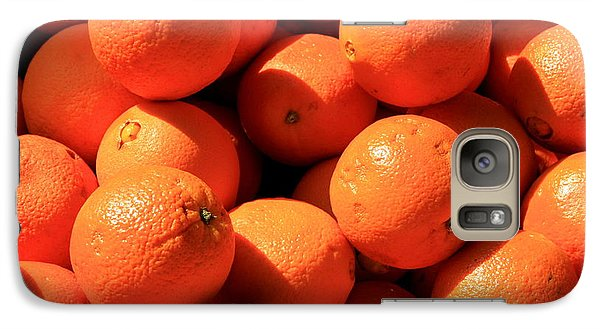 Galaxy Case featuring the photograph Oranges by David Dunham