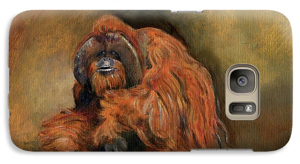 Orangutan Monkey Galaxy S7 Case