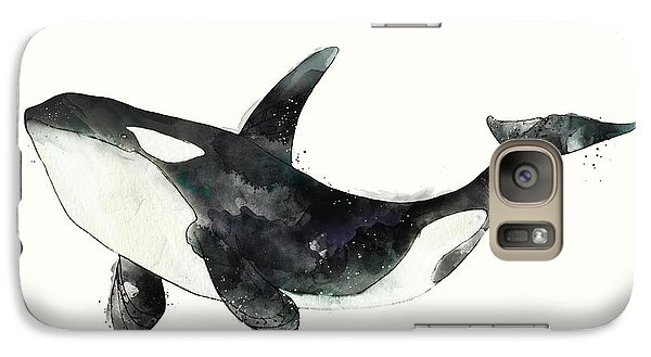 Orca From Arctic And Antarctic Chart Galaxy S7 Case