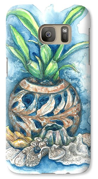 Orchid And Barnacle Galaxy S7 Case