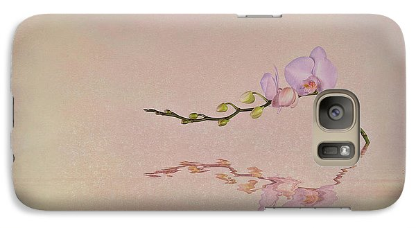 Orchid Galaxy S7 Case - Orchid Blooms And Buds by Tom Mc Nemar