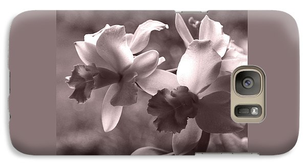Galaxy Case featuring the photograph Orchid Dream - Square by Kerri Ligatich