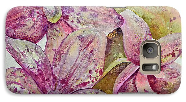 Orchid Galaxy S7 Case - Orchid Envy by Shadia Derbyshire