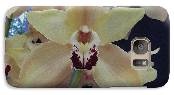 Galaxy Case featuring the photograph Orchid Impression by Manuela Constantin
