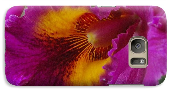 Galaxy Case featuring the photograph Orchid In The Wild by Debbie Karnes