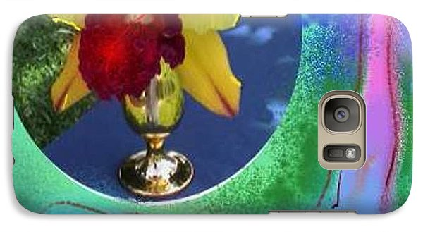 Galaxy Case featuring the photograph Orchid Keeper by The Art of Alice Terrill