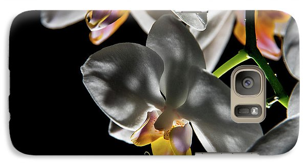 Orchid On Fire Galaxy S7 Case