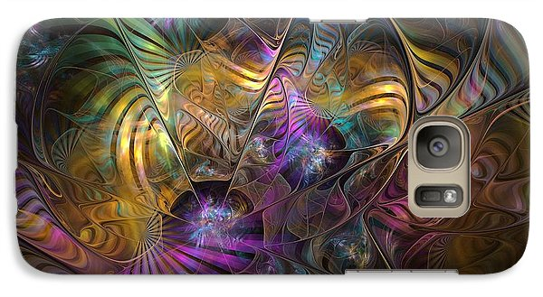 Galaxy Case featuring the digital art Ordinary Instances by NirvanaBlues