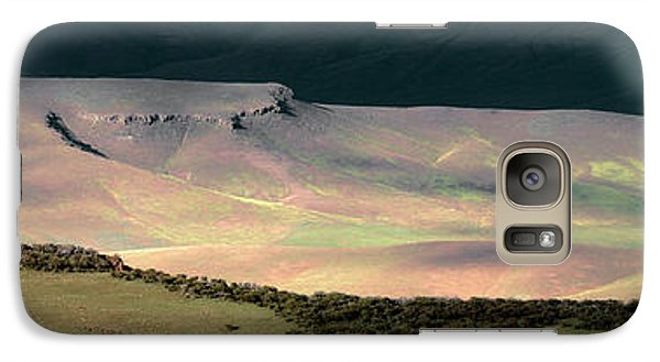 Galaxy Case featuring the photograph Oregon Canyon Mountain Layers by Leland D Howard
