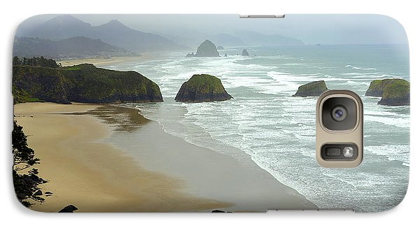 Galaxy Case featuring the photograph Oregon Coast by Jerry Cahill