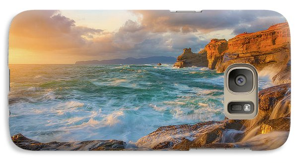 Galaxy Case featuring the photograph Oregon Coast Wonder by Darren White