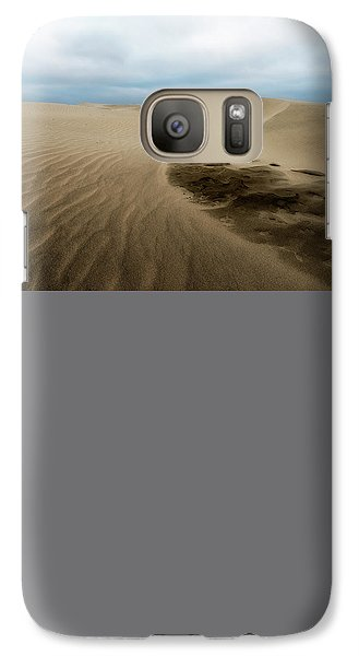 Galaxy Case featuring the photograph Oregon Dune Wasteland 1 by Ryan Manuel