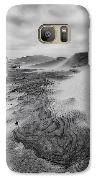 Galaxy Case featuring the photograph Oregon Dune Wasteland 2 by Ryan Manuel