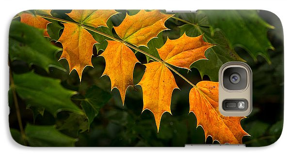 Oregon Grape Autumn Galaxy S7 Case