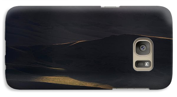 Galaxy Case featuring the photograph Oregon Mountains 1 by Leland D Howard