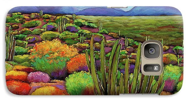 Landscape Galaxy S7 Case - Organ Pipe by Johnathan Harris