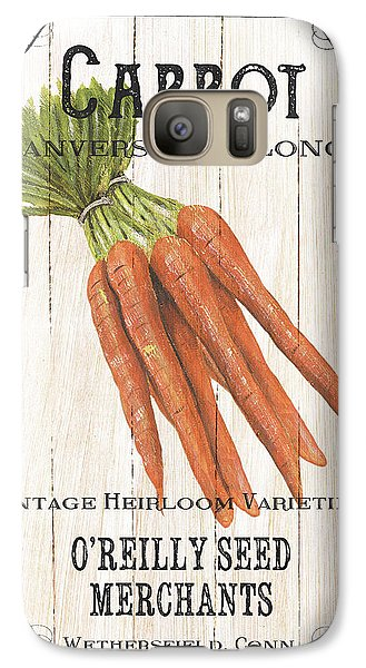 Organic Seed Packet 2 Galaxy S7 Case by Debbie DeWitt