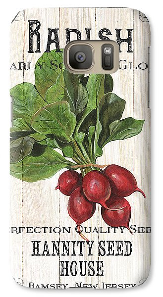 Organic Seed Packet 3 Galaxy S7 Case by Debbie DeWitt