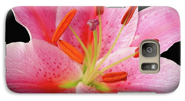 Galaxy Case featuring the photograph Oriental Beauty by Sue Melvin