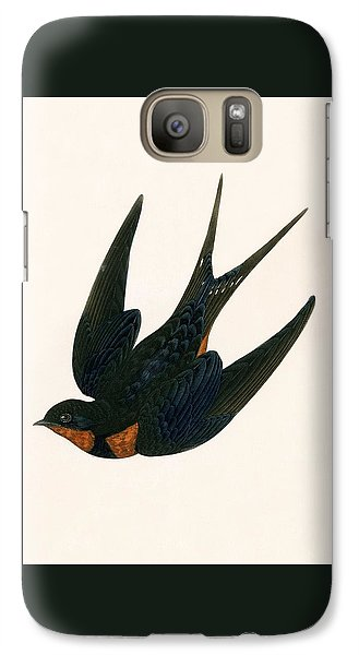 Oriental Chimney Swallow Galaxy S7 Case