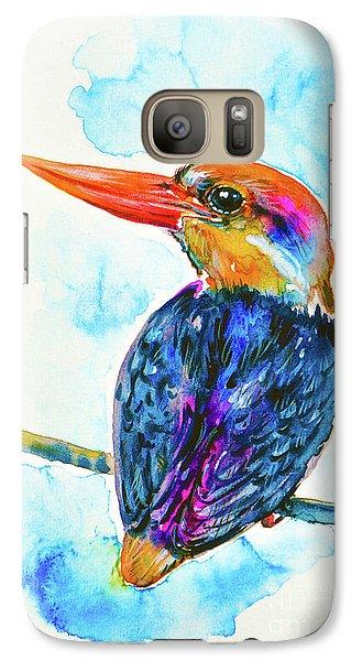 Oriental Dwarf Kingfisher Galaxy S7 Case by Zaira Dzhaubaeva
