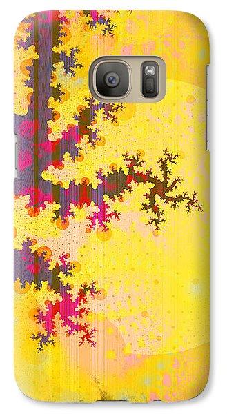 Oriental Moon Behind My Courtain Galaxy S7 Case